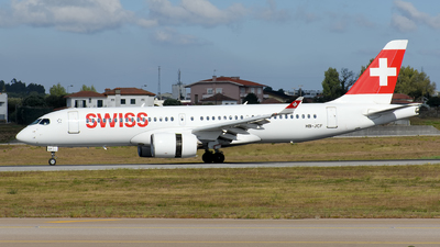 A picture of HBJCF - Airbus A220300 - Swiss - © Rui Marques