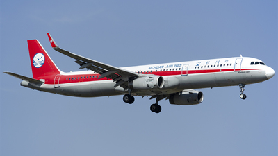 A picture of B9937 - Airbus A321231 - Sichuan Airlines - © StephenLian020216