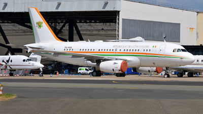 TU-VAS - Airbus A319-133(CJ) - Ivory Coast - Air Force