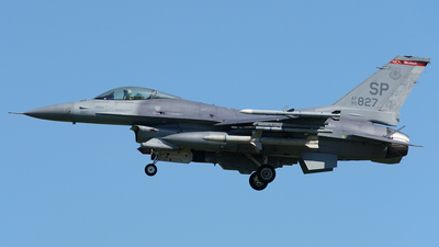 90-0827 - General Dynamics F-16C Fighting Falcon - United States - US Air Force (USAF)