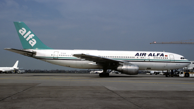 TC-ALN - Airbus A300B4-103 - Air Alfa