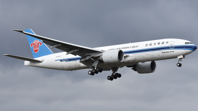A picture of B2075 - Boeing 777F1B - China Southern Airlines - © nickvdhoek