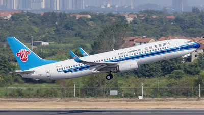 A picture of B1411 - Boeing 73781B - China Southern Airlines - © Eric Wang