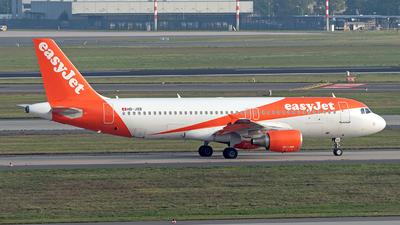 A picture of HBJXB - Airbus A320214 - easyJet - © Sebastian Thiel