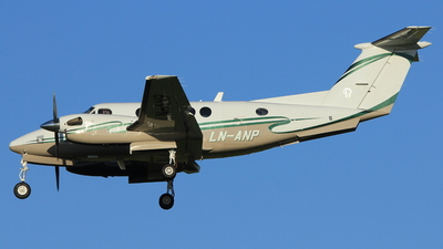 LN-ANP - Beechcraft B200 Super King Air - Sundt Air