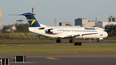 VH-UQW - Fokker 100 - Alliance Airlines