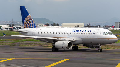 N895UA - Airbus A319-132 - United Airlines