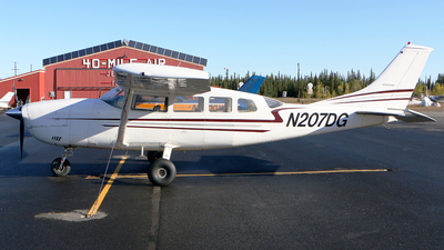 N207DG - Cessna T207 Turbo Skywagon - Private