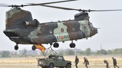 HT.17-06 - Boeing CH-47D Chinook - Spain - Army