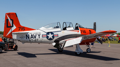 N9025Y - North American T-28C Trojan - Private