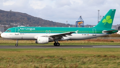 A picture of EIGAM - Airbus A320214 - Aer Lingus - © Ethan Allen