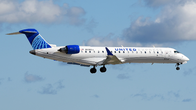 A picture of N536GJ - Mitsubishi CRJ550 - United Airlines - © JC