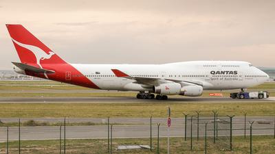 VH-OJJ - Boeing 747-438 - Qantas