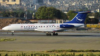 YK-AYB - Tupolev Tu-134B-3 - Syrianair - Syrian Arab Airlines