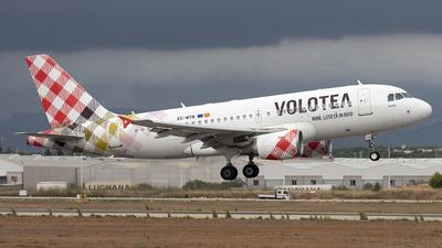 A picture of ECMTN - Airbus A319112 - Volotea - © Vicente Aguilo