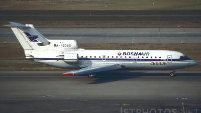 RA-42385 - Yakovlev Yak-42D - BosnaAir