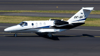 OK-BET - Cessna 525 CitationJet M2 - Queen Air