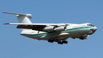 7T-WIP - Ilyushin IL-76TD - Algeria - Air Force
