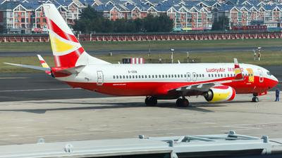 B-1208 - Boeing 737-84P - Lucky Air