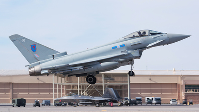 A picture of ZK321 - Eurofighter Typhoon FGR.4 -  - © Dana Low