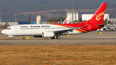 A picture of B1330 - Boeing 73787L - Kunming Airlines - © ChengFJ