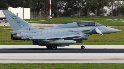 ZK399 - Eurofighter Typhoon EF2000(T) - Saudi Arabia - Air Force