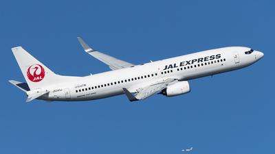 JA345J - Boeing 737-846 - JAL Express