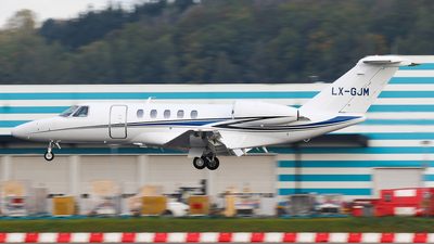 LX-GJM - Cessna 525C CitationJet 4 - Private