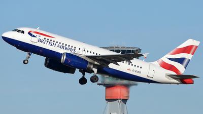 G-EUPO - Airbus A319-131 - British Airways