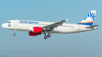 LY-NVT - Airbus A320-214 - SunExpress (Avion Express)