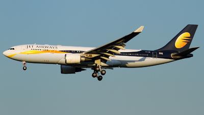 VT-JWG - Airbus A330-203 - Jet Airways