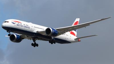 A picture of GZBKP - Boeing 7879 Dreamliner - British Airways - © Indy Udol
