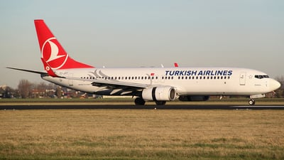 TC-JFY - Boeing 737-8F2 - Turkish Airlines