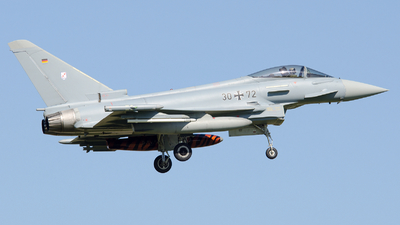 30-72 - Eurofighter Typhoon EF2000 - Germany - Air Force