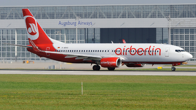 D-ABAS - Boeing 737-86J - Air Berlin