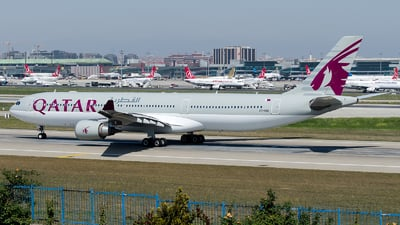 A7-AED - Airbus A330-302 - Qatar Airways