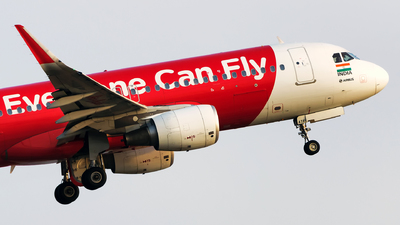 VT-ATF - Airbus A320-216 - AirAsia India