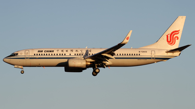 B-5443 - Boeing 737-89L - Air China