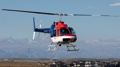C-GDBA - Bell 206B JetRanger III - Mountain View Helicopters