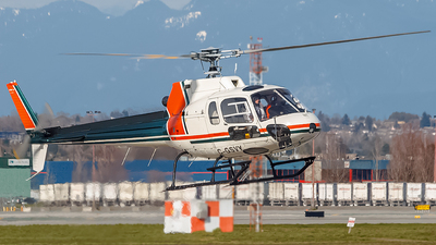 C-GSVY - Aérospatiale AS 350BA Ecureuil - Vertical Air