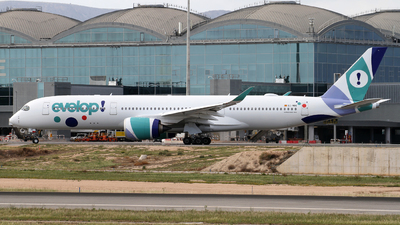 EC-NBO - Airbus A350-941 - Evelop Airlines