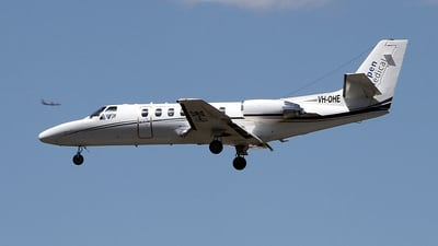 VH-OHE - Cessna 560 Citation Ultra - Aspen Medical