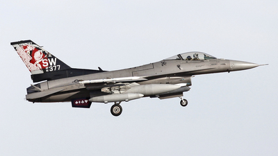 91-0377 - Lockheed Martin F-16CJ Fighting Falcon - United States - US Air Force (USAF)