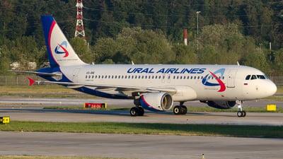 VQ-BNI - Airbus A320-214 - Ural Airlines