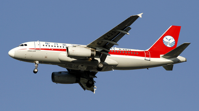 A picture of B6433 - Airbus A319133 - Sichuan Airlines - © wangpaul