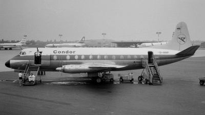 D-ANIP - Vickers Viscount 814 - Condor