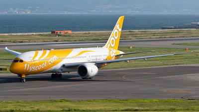9V-OFA - Boeing 787-8 Dreamliner - Scoot