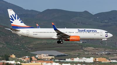 A picture of DASXT - Boeing 7378EH - [35837] - © Bartolome Fernandez - Gran Canaria Spotters