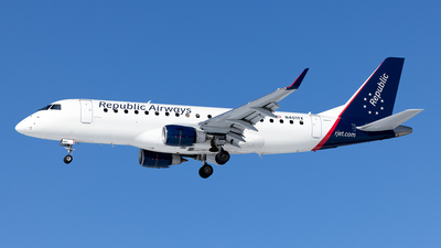 N401YX - Embraer 170-200LR - Republic Airways