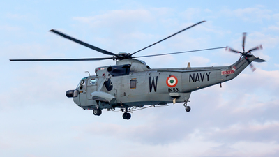 IN531 - Westland Sea King Mk.42 - India - Navy